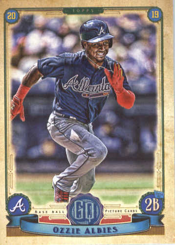 Photo of 2019 Topps Gypsy Queen #104 Ozzie Albies