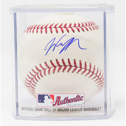 Photo of Wil Myers Autographed Baseball