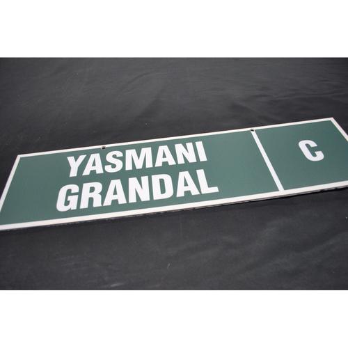 Photo of 2010 MLB Draft Nameplate - Yasmani Grandal