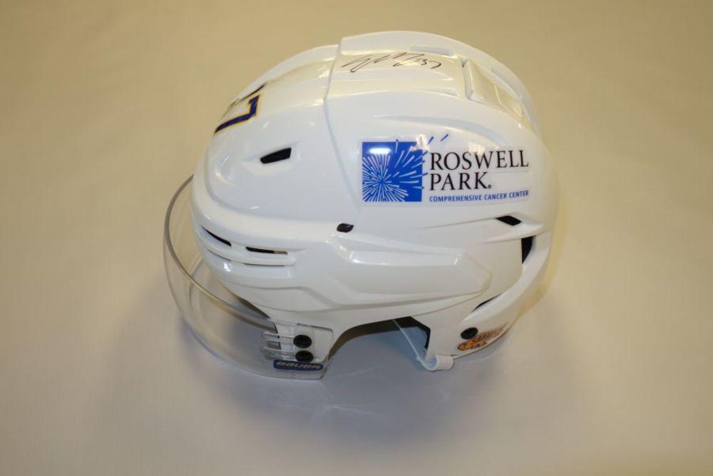 Casey Mittelstadt 2020-21 Autographed Game-Used Helmet