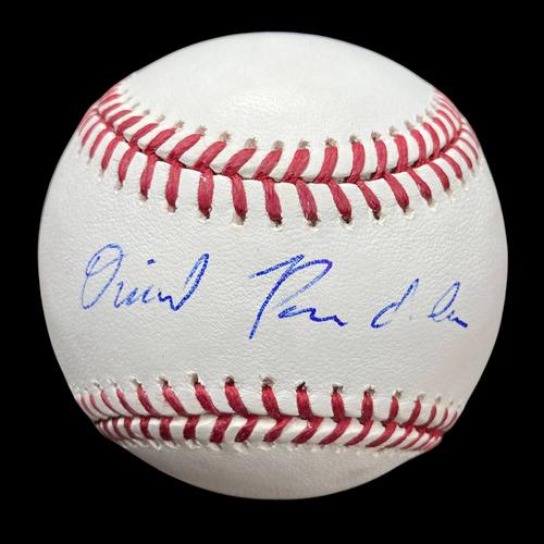 Photo of Daniel Ponce de Leon Autographed Baseball