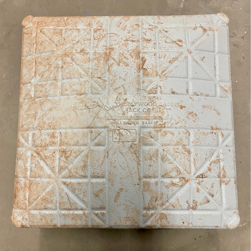 Photo of Cabrera Exclusive! Game-Used Base: Miguel Cabrera Career Hits 2,877 and 2,878 to tie and surpass Omar Vizquel to become the All Time Career Hits Leader from Venezuela (MLB AUTHENTICATED)
