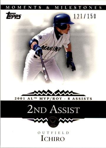Photo of 2007 Topps Moments and Milestones #11-2 Ichiro Suzuki/Assist 2
