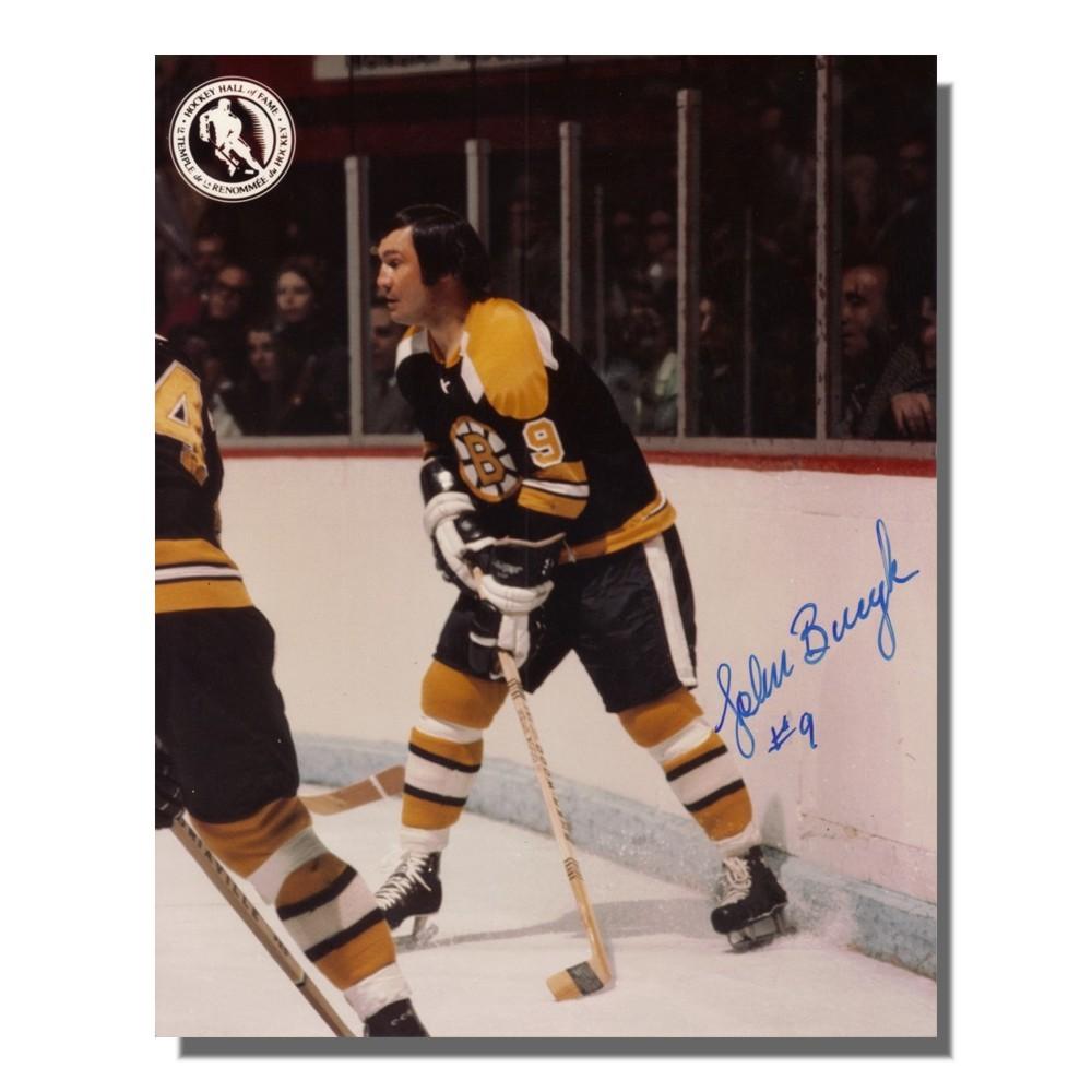 Johnny Bucyk Autographed Boston Bruins 8x10 Photo