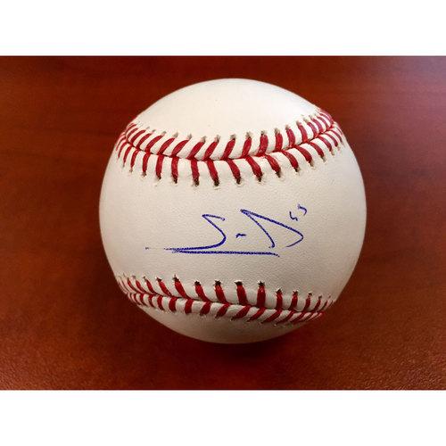 Sean Manaea Autographed Baseball
