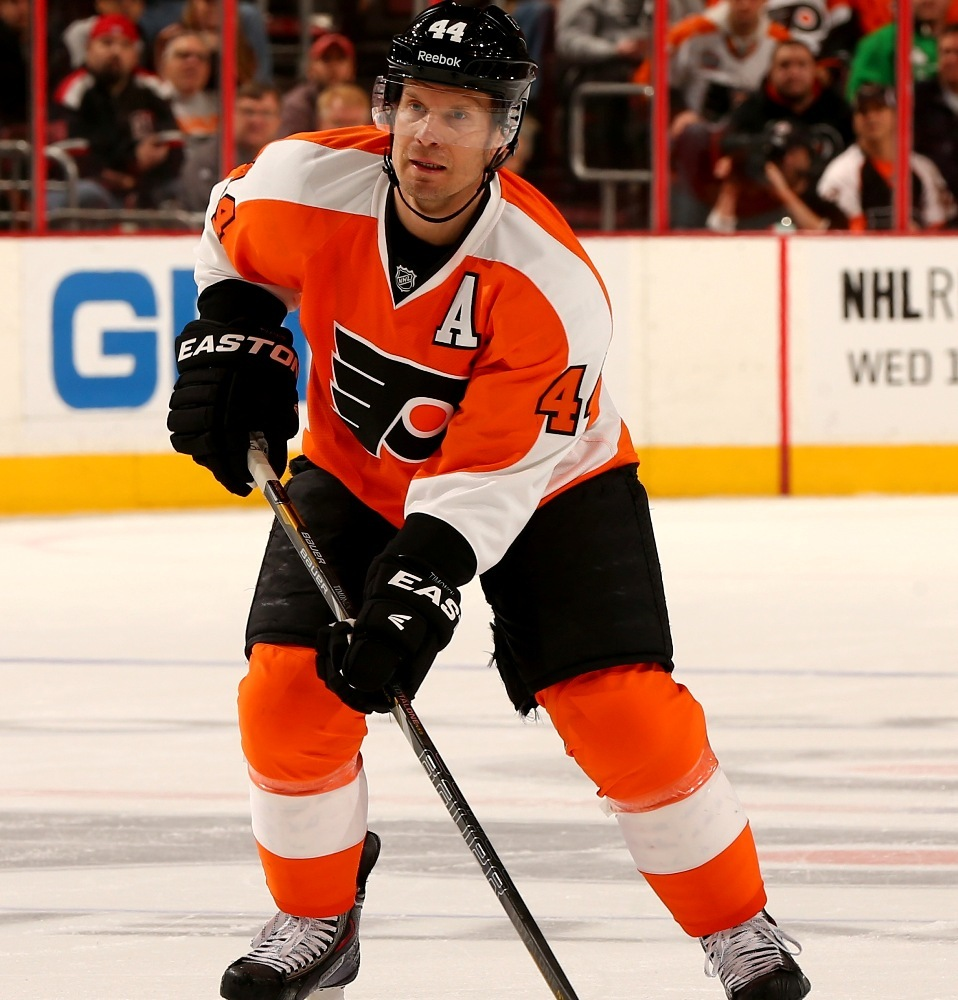 Flyers Charities Stick Auction: Kimmo Timonen Game-Used Signed Stick-Philadelphia Flyers