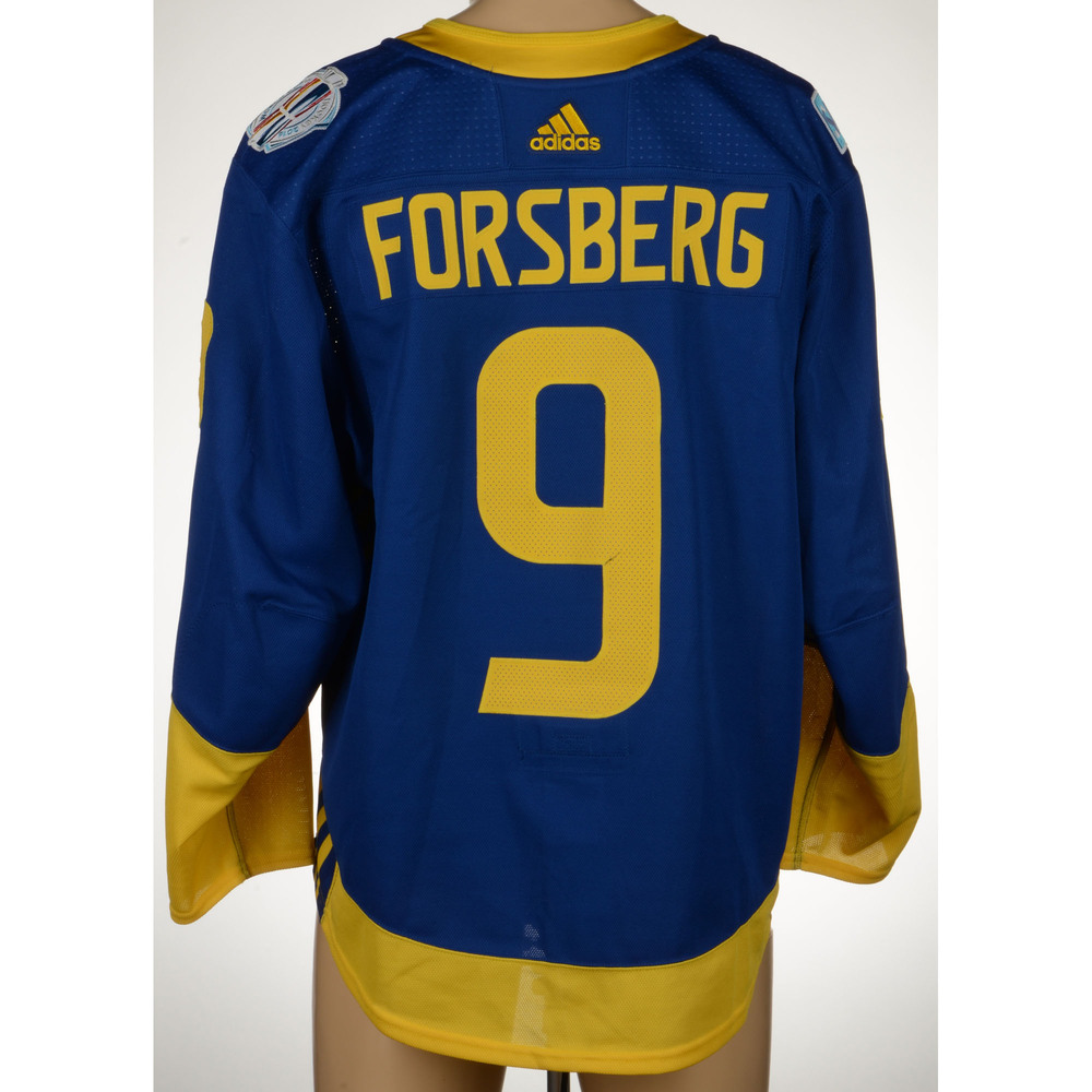 check out 79b80 1a7f4 Filip Forsberg Nashville Predators Game-Worn World Cup of ...