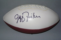 TITANS - JEFF FISHER SIGNED PANEL BALL W/ TITANS LOGO