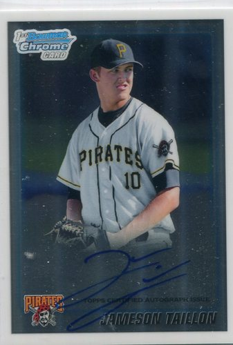 Photo of 2010 Bowman Chrome Draft Prospect Autographs  Jameson Taillon