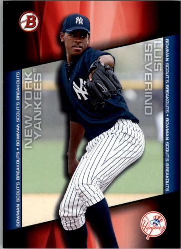 Photo of 2014 Bowman Draft Scouts Breakout #BSBLS Luis Severino