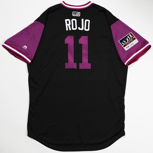 "Photo of Mike ""Rojo"" Redmond Colorado Rockies Game-Used 2018 Players' Weekend Jersey"