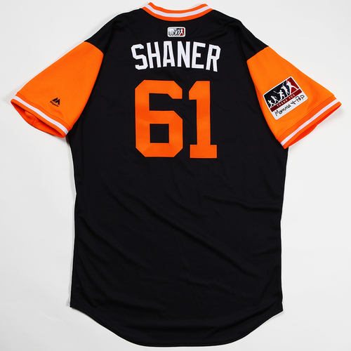 "Photo of Shane ""Shaner"" Greene Detroit Tigers Game-Used 2018 Players' Weekend Jersey"