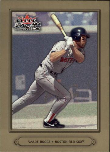 Photo of 2002 Fleer Fall Classics #73A Wade Boggs Red Sox