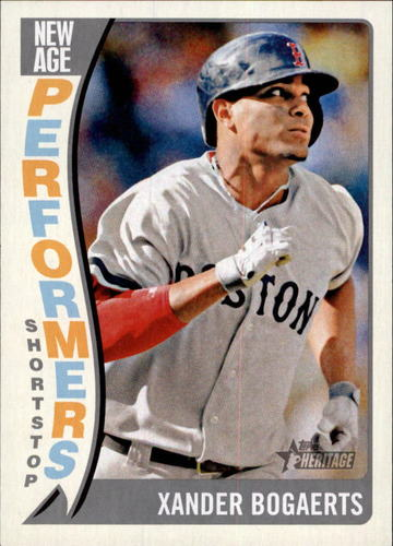 Photo of 2014 Topps Heritage New Age Performers #NAPXB Xander Bogaerts
