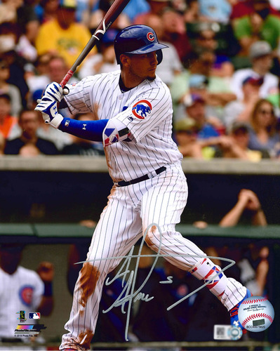 Photo of Albert Almora Autographed Photo