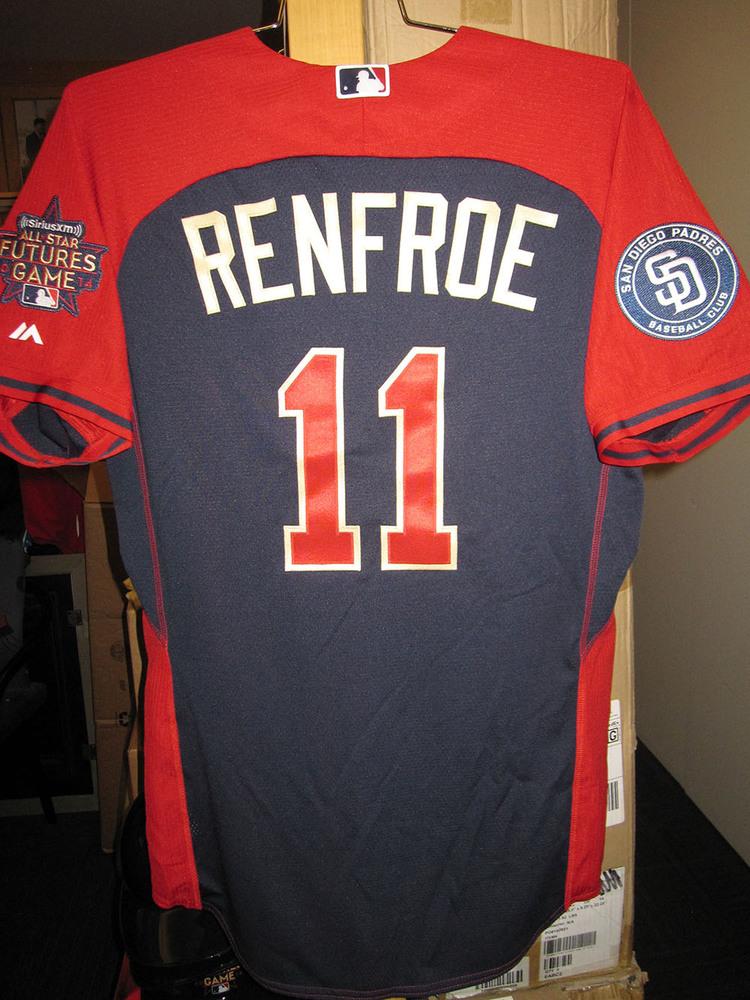 get cheap efe36 934aa MLB Auctions | HUNTER RENFROE BATTING PRACTICE JERSEY - BP ...