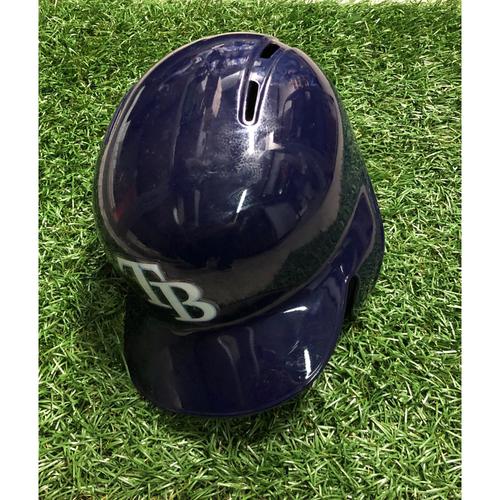 Photo of Game Used HOME RUN Batting Helmet: Adam Moore - September 28, 2018 v TOR