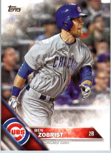 Photo of 2016 Topps #447 Ben Zobrist