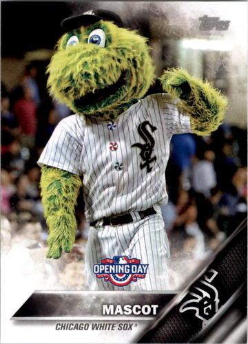 Photo of 2016 Topps Opening Day Mascots #M21 White Sox Mascot