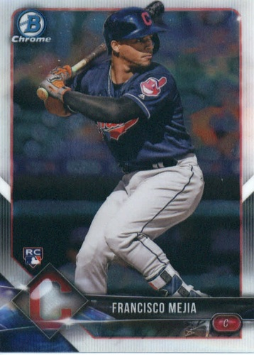 Photo of 2018 Bowman Chrome #33 Francisco Mejia RC