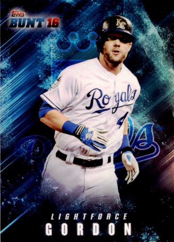 Photo of 2016 Topps Bunt Light Force #LF10 Alex Gordon