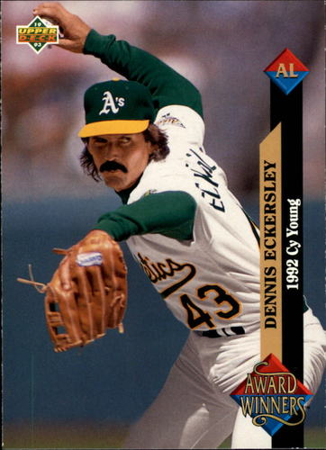 Photo of 1993 Upper Deck #489 Dennis Eckersley AW