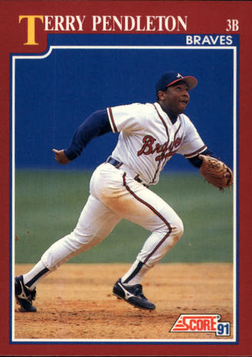Photo of 1991 Score Rookie/Traded #50T Terry Pendleton