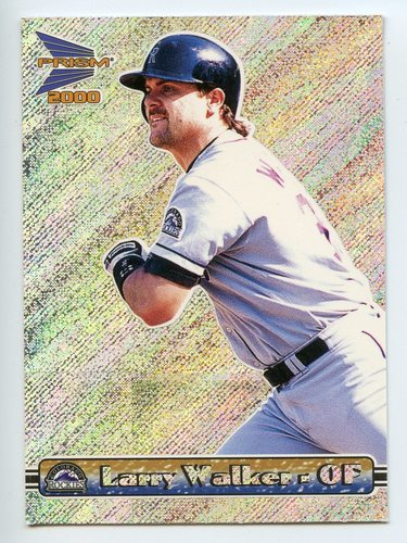 Photo of 2000 Pacific Prism Holographic Mirror #52 Larry Walker