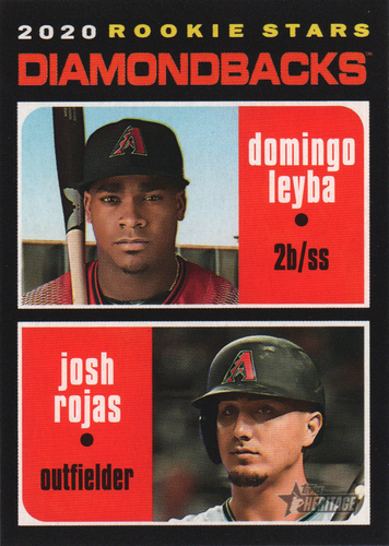 Photo of 2020 Topps Heritage #111 Josh Rojas RC/Domingo Leyba RC