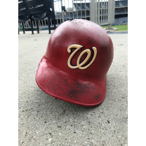 Game-Used Adam Eaton Helmet