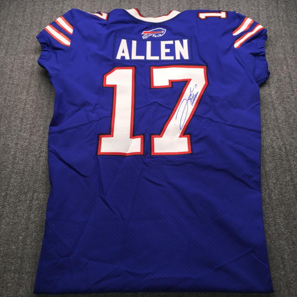NFL - Bills Josh Allen Signed Jersey Size 44