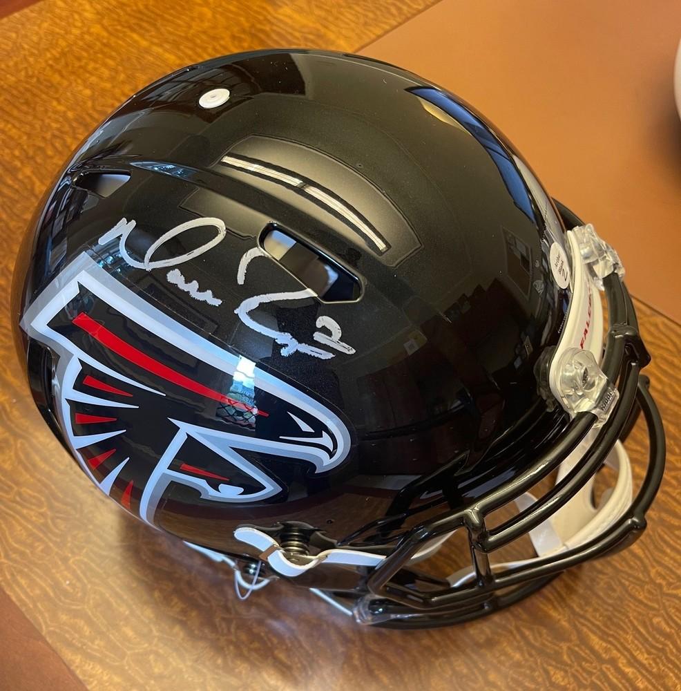 Matt Ryan Autographed Authentic Atlanta Falcons Helmet - Benefiting Warrick Dunn Charities