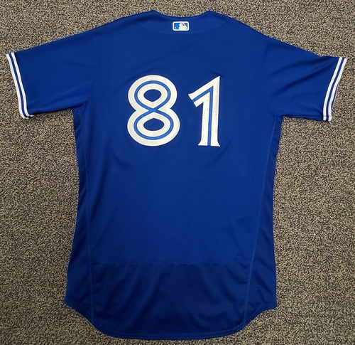 Photo of Authenticated Game Used Spring Training Jersey: #81 Kirby Snead (Mar 26, 2021). Size 46.