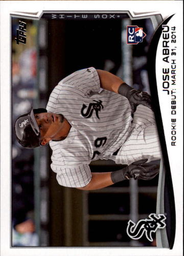 Photo of 2014 Topps Update #US325 Jose Abreu RC