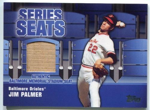 Photo of 2004 Topps Series Seats Relics #JP Jim Palmer