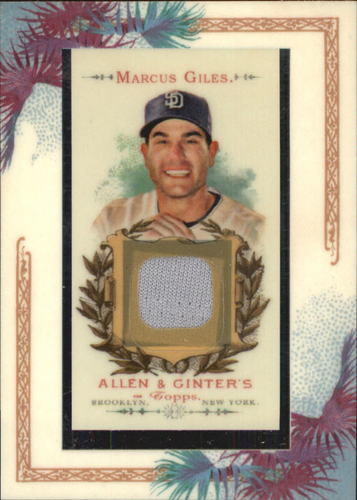 Photo of 2007 Topps Allen and Ginter Relics #MG Marcus Giles J