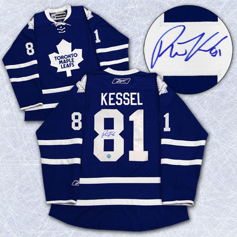 size 40 54873 d0eec Phil Kessel Toronto Maple Leafs Autographed Reebok Premier ...
