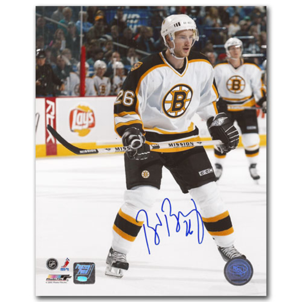 Brad Boyes Autographed Boston Bruins 8X10 Photo