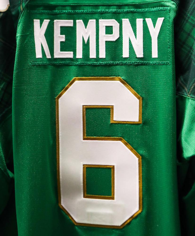 #6 - Michal Kempny Autographed Authentic St. Patrick's Day Jersey
