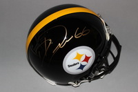 NFL - STEELERS DAVID DECASTRO SIGNED STEELERS PROLINE HELMET