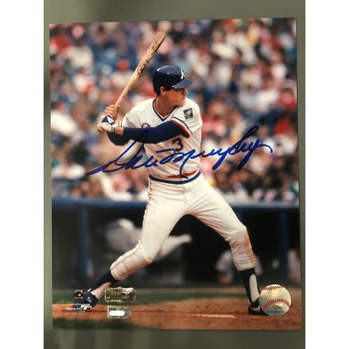 Photo of Dale Murphy Autographed 8 x 10 Photo