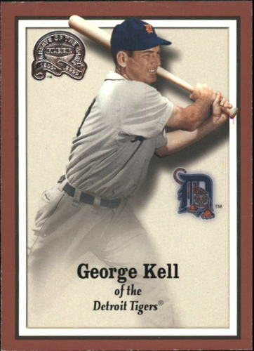 Photo of 2000 Greats of the Game #83 George Kell -- Hall of Fame Class of 1983