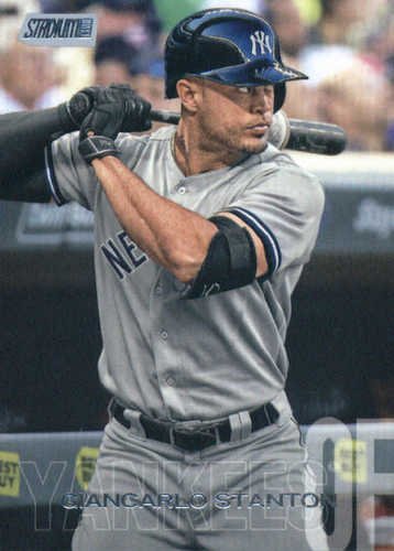 Photo of 2018 Stadium Club #145 Giancarlo Stanton