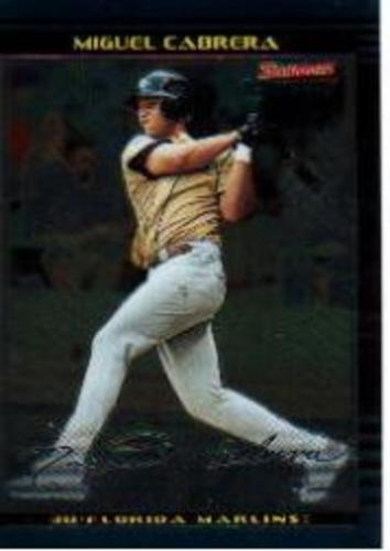 Photo of 2002 Bowman Chrome Draft #156 Miguel Cabrera