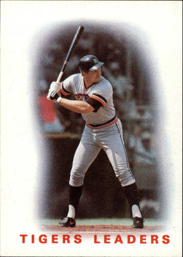 Photo of 1986 Topps #36 Tigers Leaders/Lance Parrish