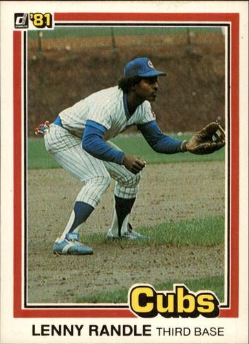 Photo of 1981 Donruss #485 Lenny Randle