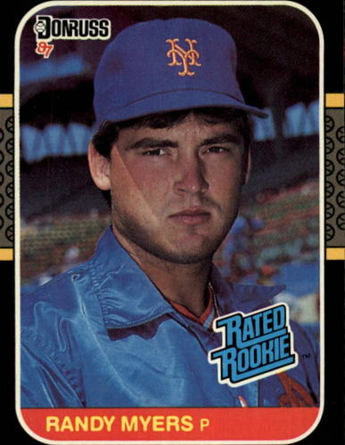 Photo of 1987 Donruss #29 Randy Myers RC