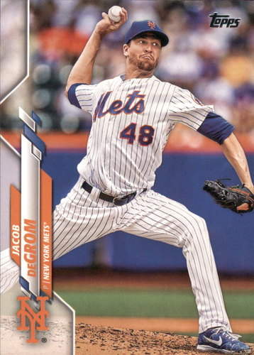 Photo of 2020 Topps #332 Jacob deGrom