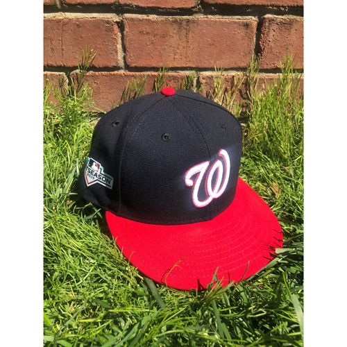 Photo of Ryan Zimmerman Game-Used Cap Worn 2019 NLCS
