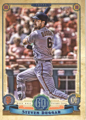 Photo of 2019 Topps Gypsy Queen #108 Steven Duggar RC